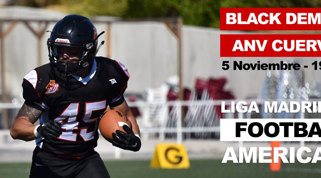 Partido Seniors-Liga Football Americano-Black Demons